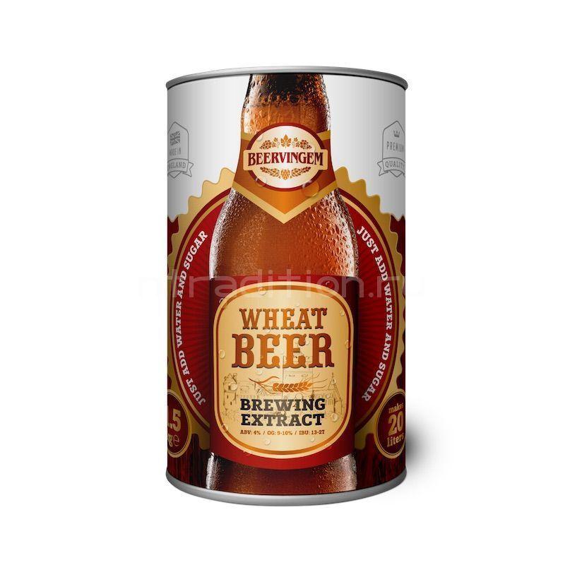 "Солодовый экстракт Beervingem  ""Wheat beer"", 1,5 кг"