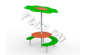"Стол со скамейкой ""Дерево"" 130.05"