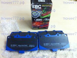 Колодки тормозные, EBC Blue Stuff, передние
