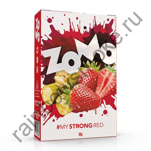 Zomo Strong Line 50 гр - Red (Красный)