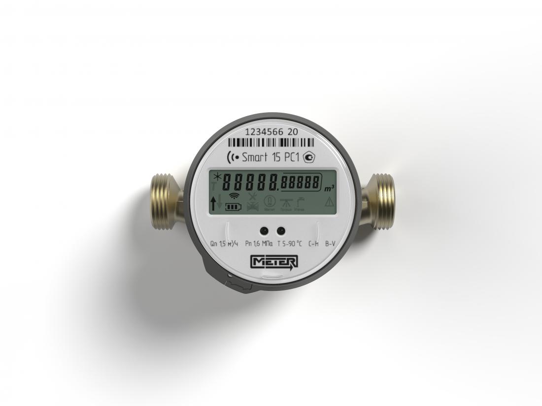 Счетчик воды электронный Smart - Метер