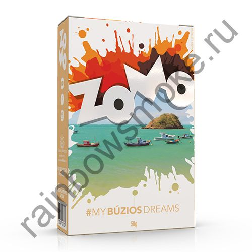 Zomo Flavors of Brasil 50 гр - Buzios Dreams (Бузиос Дримз)