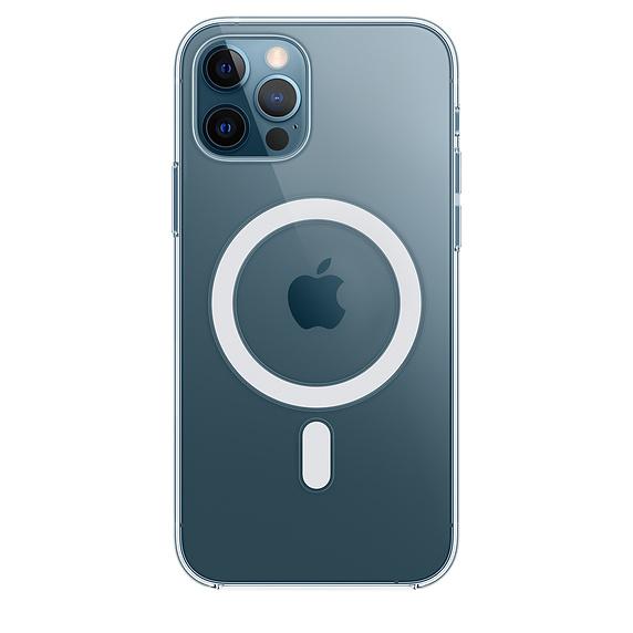 Прозрачный чехол MagSafe для iPhone 12 Pro