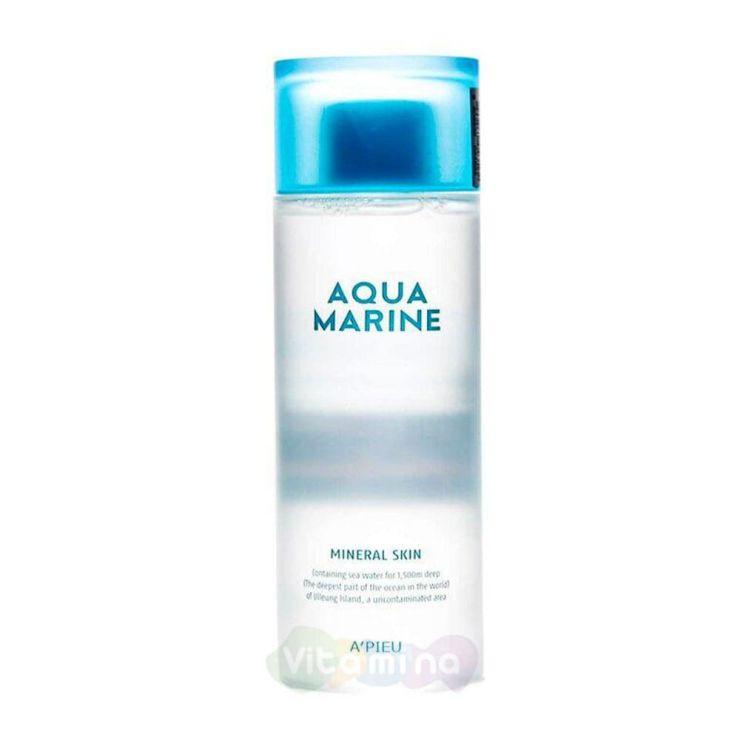 A'Pieu Увлажняющий минеральный тонер Aqua Marine Mineral Skin, 180 мл