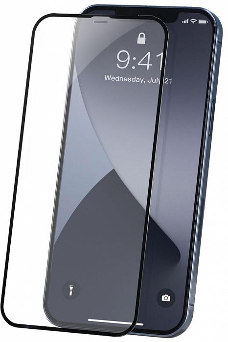 Защитное стекло iPhone 12 9D (полноразмерное)