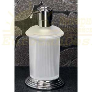 Сосуд для жидкого мыла настольный Colombo Hermitag хром ФОТО