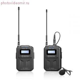 BY-WM6S беспроводная петличная радиосистема