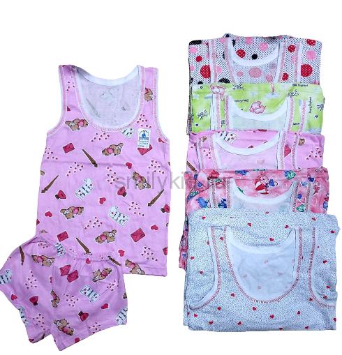 Детское белье для девочки Рисунок оптом | 5 шт