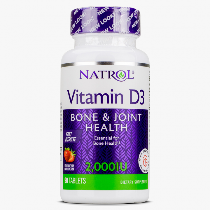 Natrol - Vitamin D3 2000IU