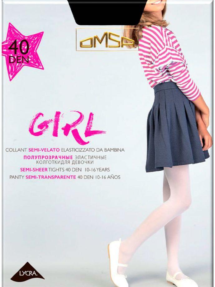колготки OMSA Fantasy Girl 40