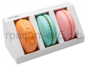 Набор KW-trio Macaron степлер N10 + дырокол + точилка 6351
