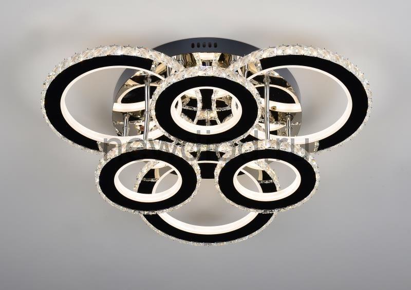 Управляемый светодиодный светильник Brilliance2871 160W-40м² 9600Lm 640mm пульт Oreol