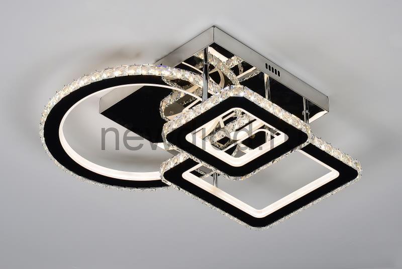 Управляемый светодиодный светильник BRILLIANCE2878 144W-36м² 8600Lm 550*500мм пульт Oreol