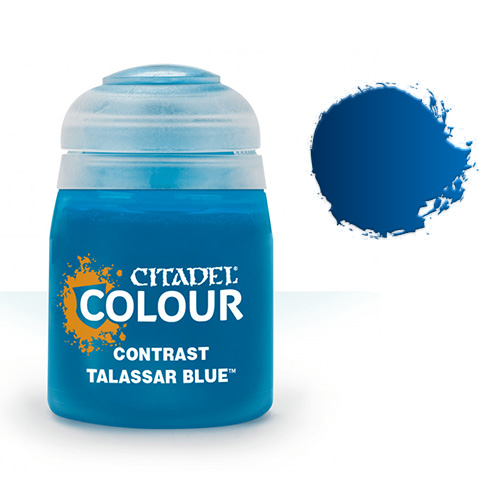 Контрастная краска Talassar Blue 29-39