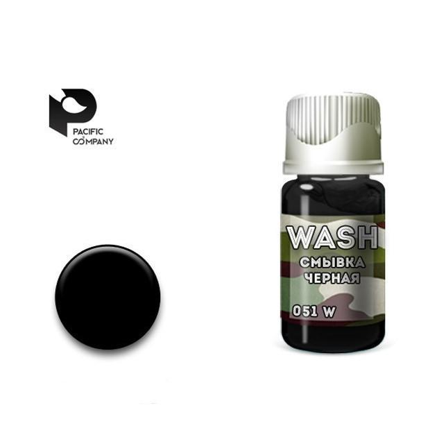 Смывка черная (black wash) 10мл