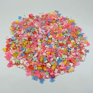 """Кабошон, пластик, микс """"Животные"""", размер  16-22мм (1уп = 50шт), Арт. КБП0422"""