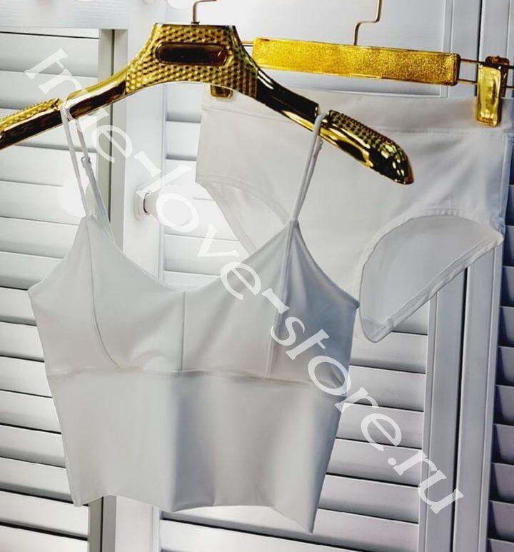 ST 001013-2 - Цена за 3 шт., Комплект Широкий ТОП + трусики