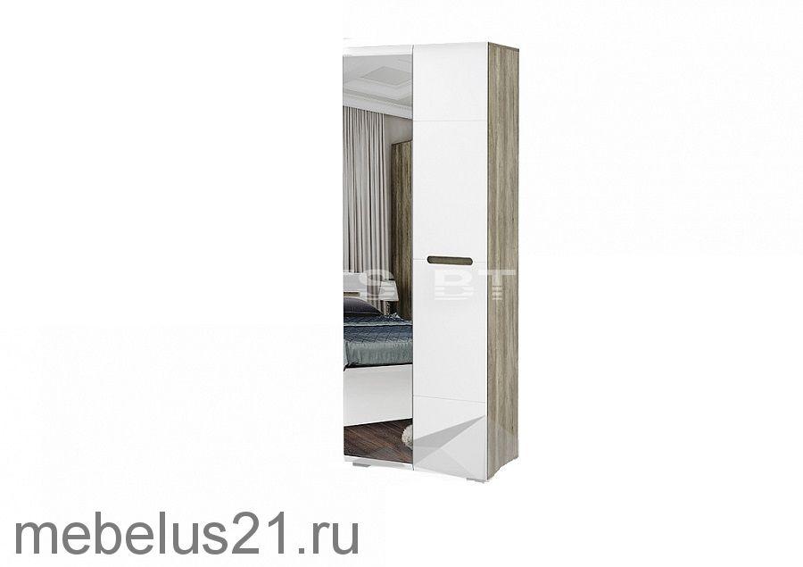 Шкаф 2-х створчатый с зеркалом Наоми