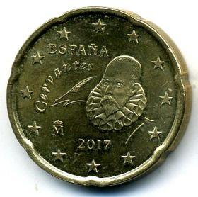 Испания 20 евроцентов 2011