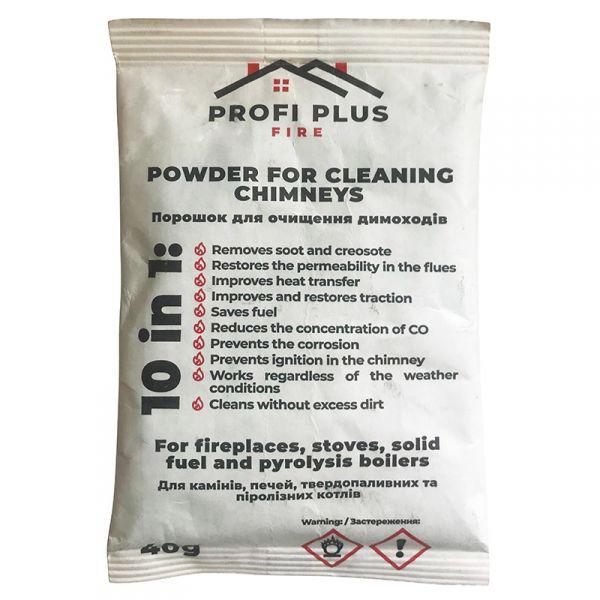Порошок для очистки дымоходов Profi Plus (40 г), Бельгия