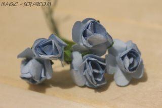 """Цветы """"Голубая безмятежность"""" (5 шт)"""