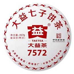 Шу пуэр 7572 партии 1801