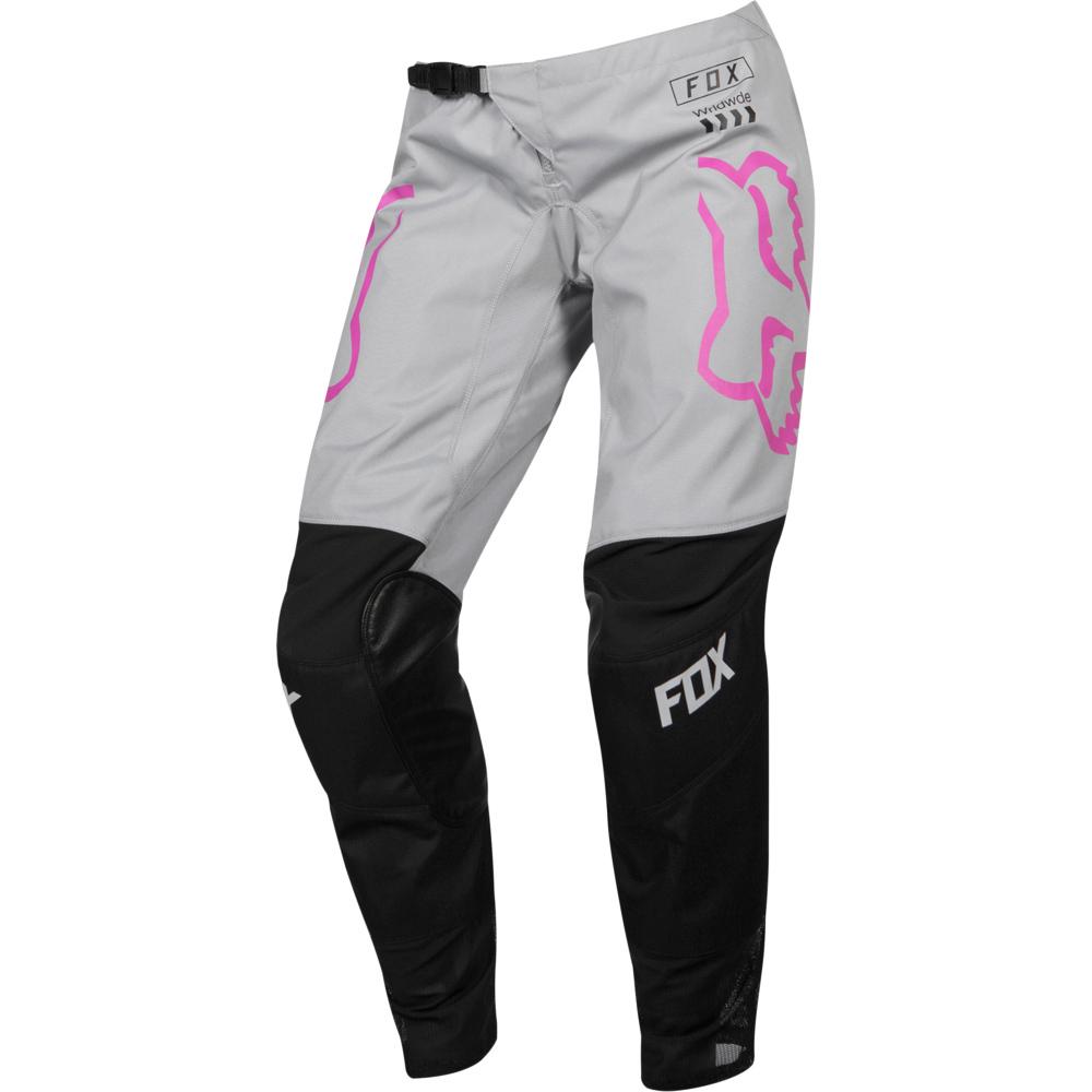 Fox WMN 180 Mata Drip Black/Pink штаны женские, черно-розовые