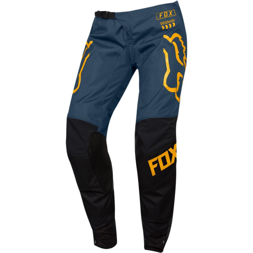 Fox WMN 180 Mata Drip Black/Navy штаны женские, черно-синие