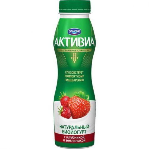 Yogurt Aktivia çiyələk (içməli) 290 ml