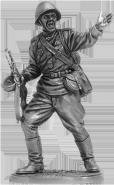 Гвардии рядовой Красной Армии, 1943-45 гг. СССР (олово)