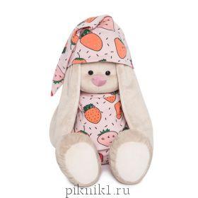 Зайка Ми Большой в пижаме в клубнички 34 см