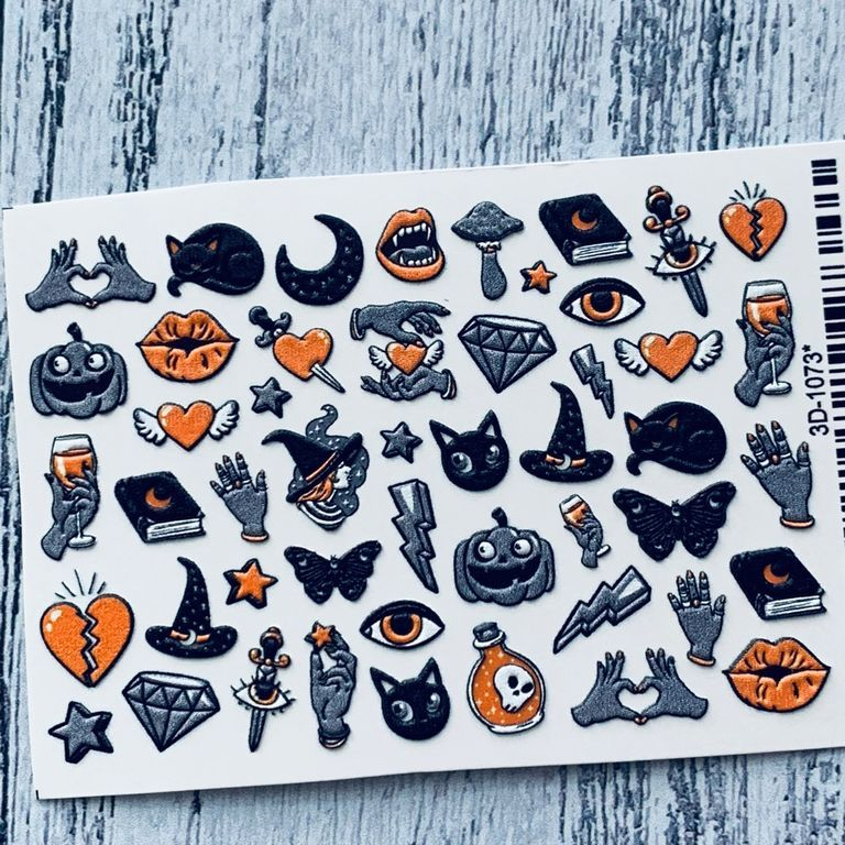 Слайдер - дизайн 3 D!!!  Хэллоуин (Halloween) супер эффект!!!