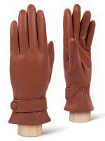 Кожаные рыжие перчатки LABBRA