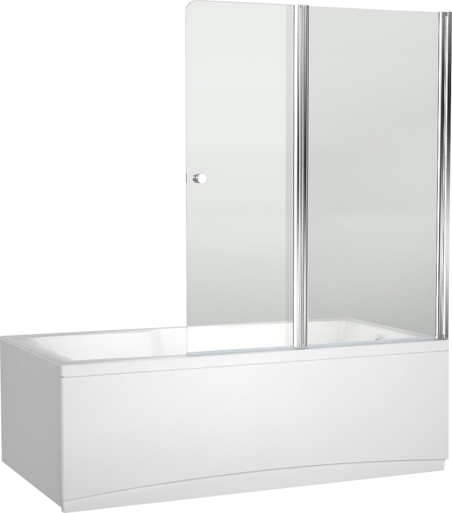 Шторка для ванны Aquanet Alfa 4 NF6222-pivot , прозрачное стекло