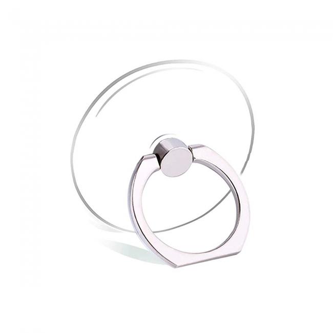 Кольцо-держатель для телефона прозрачное круглое