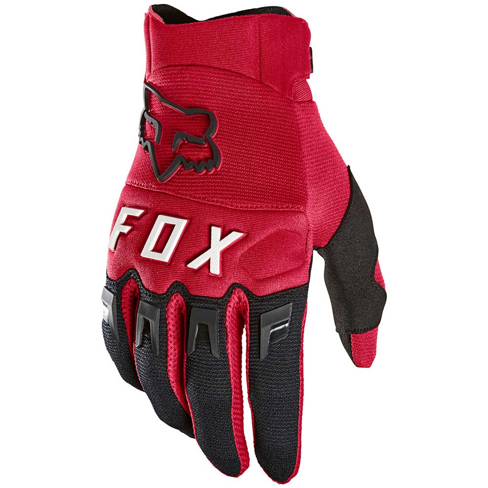 Fox 2021 Dirtpaw Flame Red перчатки