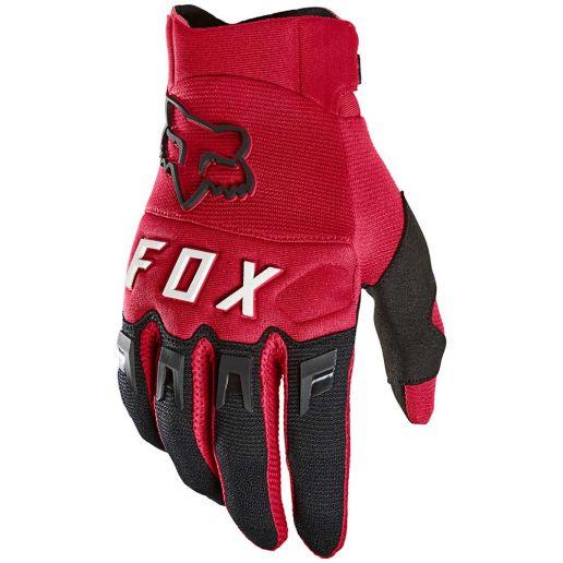 Fox 2021 Dirtpaw Flame Red перчатки