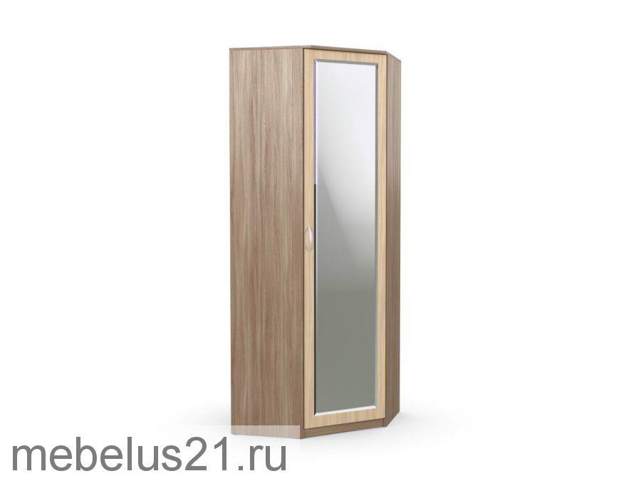 Шкаф угловой с зеркалом Дуэт Люкс