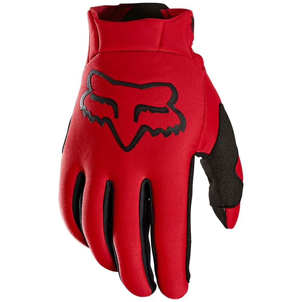 Fox 2021 Legion Thermo Flame Red перчатки утепленные