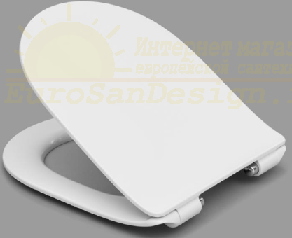 Крышка-сиденье Roca Leon Z.RU93.0.294.3 SoftClose тонкое быстросъемное ФОТО