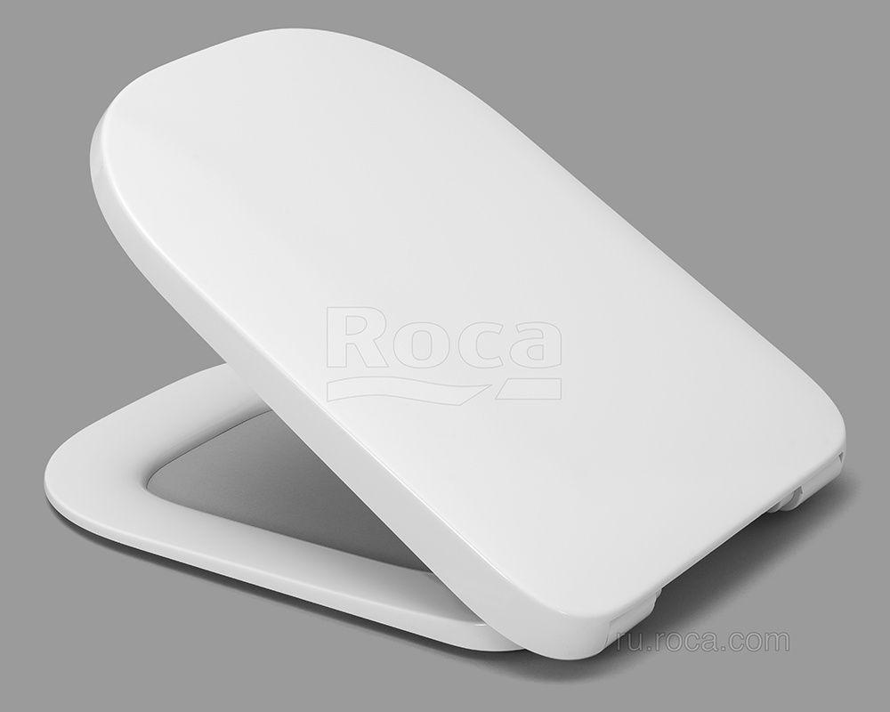 Крышка-сиденье Roca The Gap 801472001 тонкая ФОТО