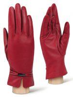 Красные женские перчатки ELEGANZZA