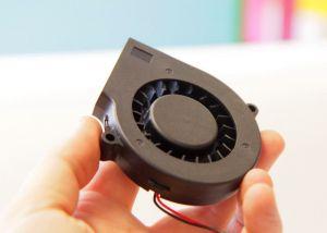 Вентилятор радиальный (центробежный) 75х75х15мм 12В