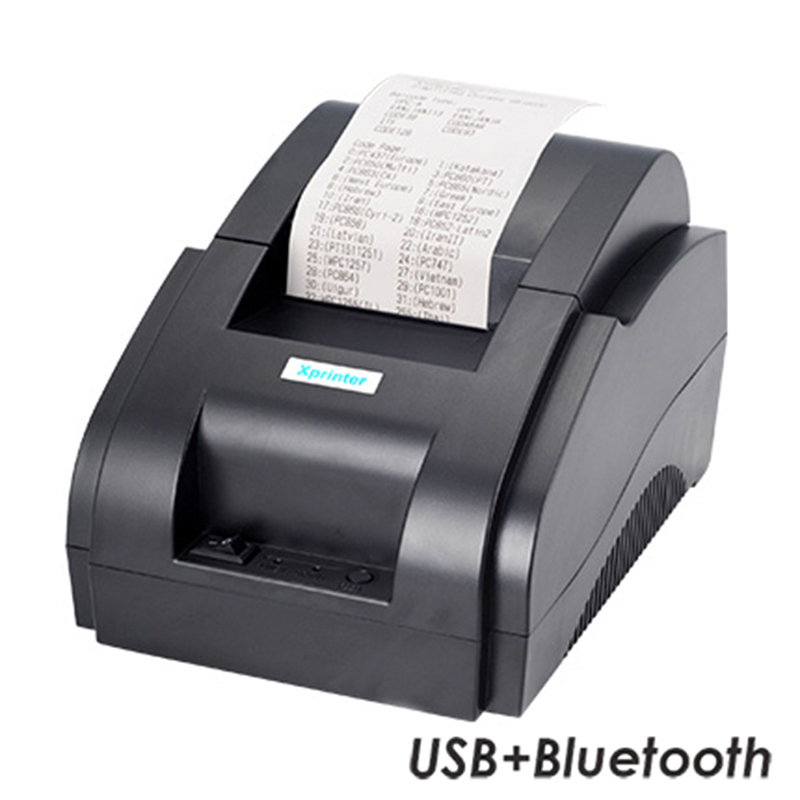 Принтер чеков Xprinter XP-58IIH (USB+BT)