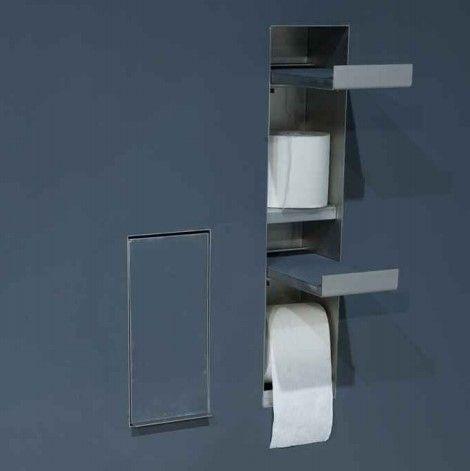 Держатель для туалетной бумаги и запасного рулона Antonio Lupi SESAMO SESAMO5 ФОТО