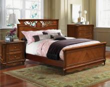 Кровать АЛЕЗИ П349.12 с высоким изножьем 1200