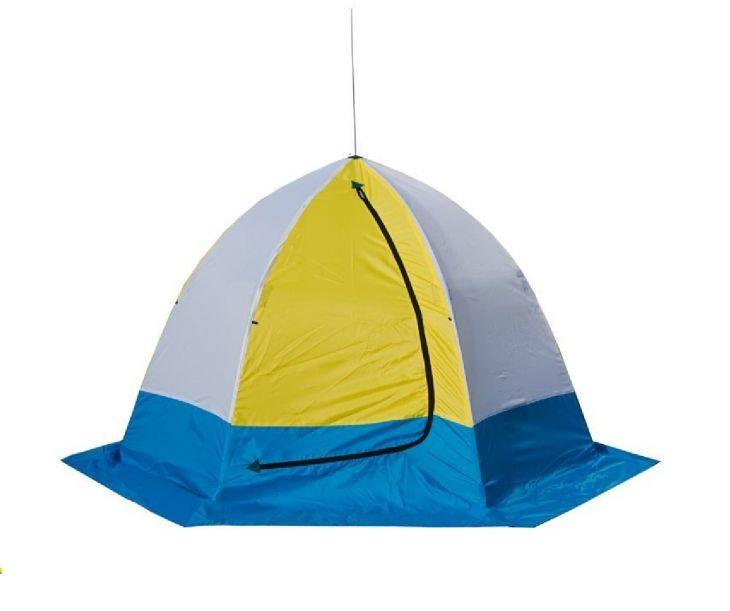 Палатка СТЭК 4-местная дышащая трехслойная ELITE
