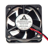 Осевой вентилятор корпусной 50х50х15мм 12В
