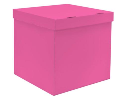 Коробка для запуска воздушных шаров, 60*60*60 см