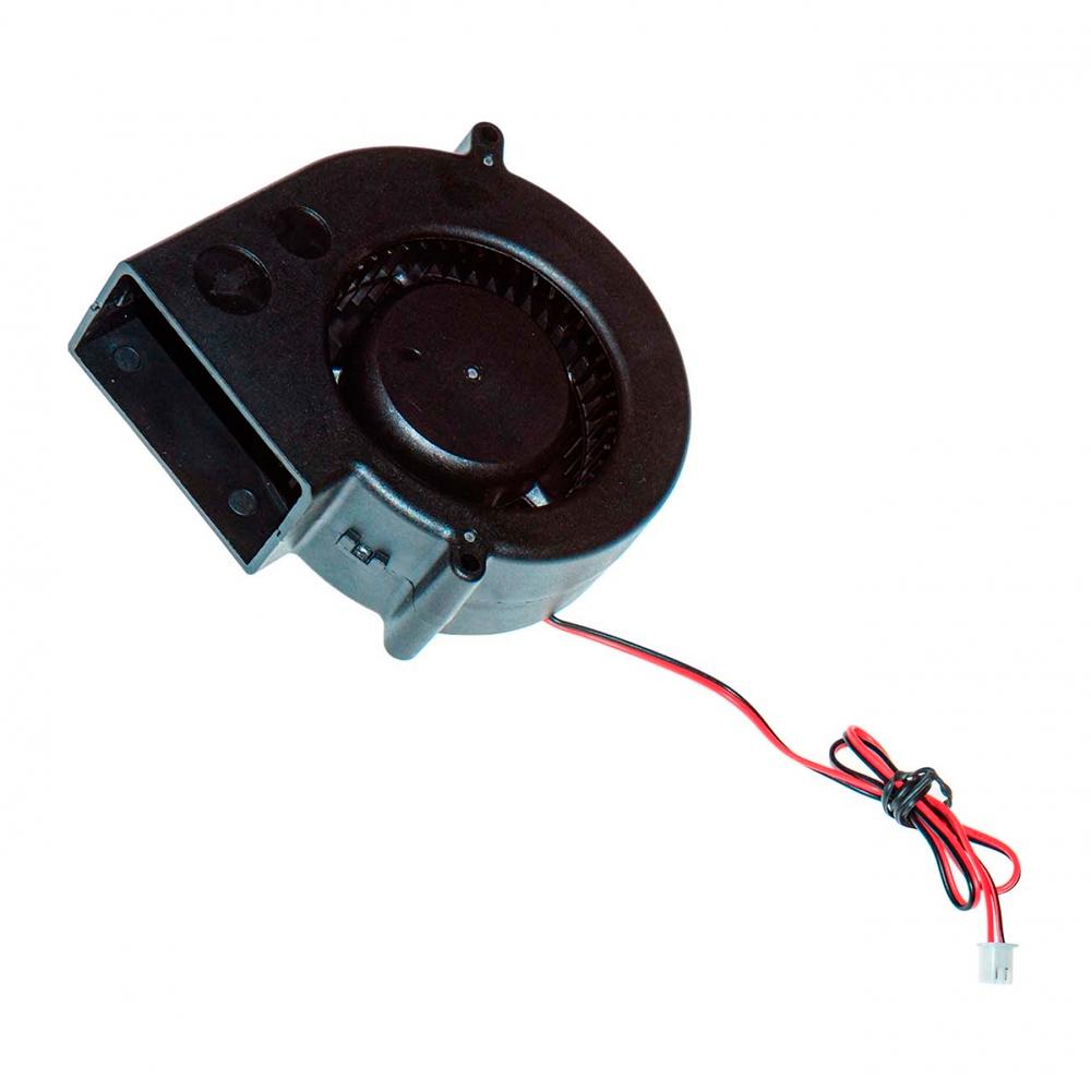 Вентилятор радиальный (центробежный) на подшипнике 58х56.3х28мм 12В